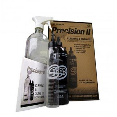 88-0008 - S&B Precision II Cleaning & Re-Oil Air Filter Service Kit (Red Oil)