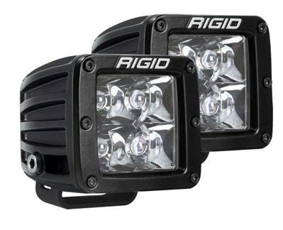 Picture of Rigid Industries D-Series Pro Spot Surface Mount Black